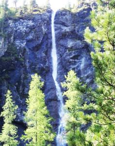 Водопад на Шумаке