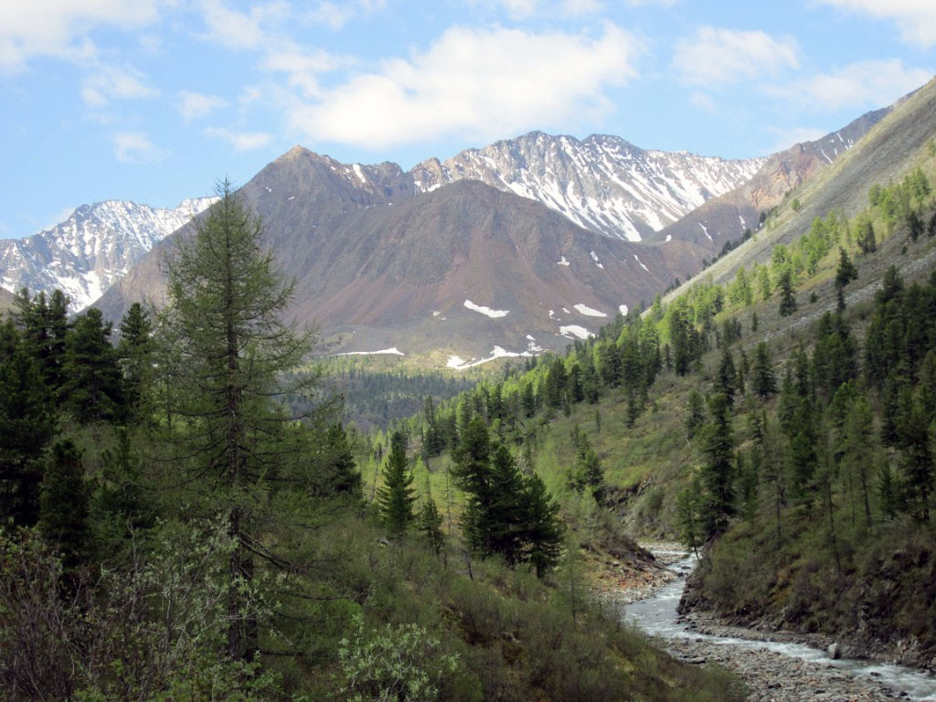 Долина реки Шумак