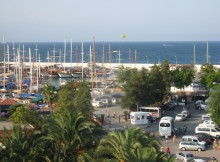 Турция. Вид из отеля Кемер Марина