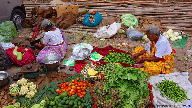 рынок в джайпуре