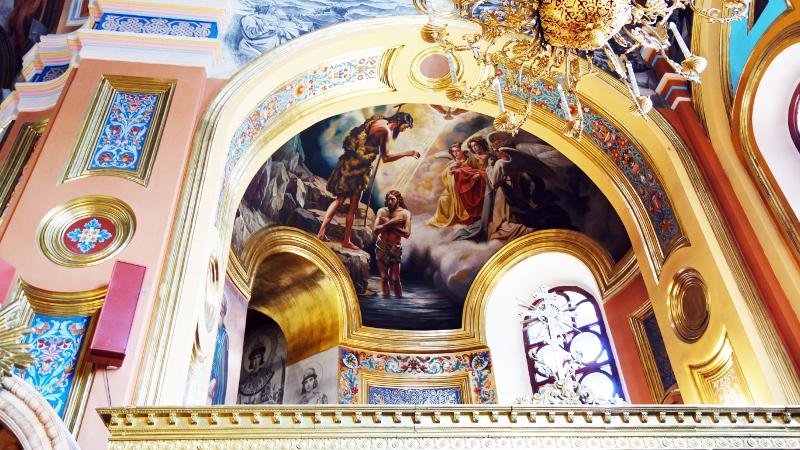 Библейские сюжеты в Казанском соборе, фото: http://prospekt-desires.ru/