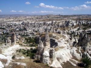 Вид на Каппадокию