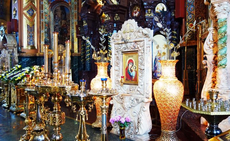 Икона Пресвятой Девы Марии в Казанском Соборе, фото: http://prospekt-desires.ru/