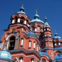 Городские храмы: церкви и костелы Иркутска!