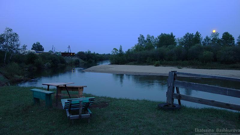 Вечером у реки