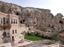 Отель пещерный дом