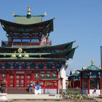 Иволгинский дацан — центр буддизма России!