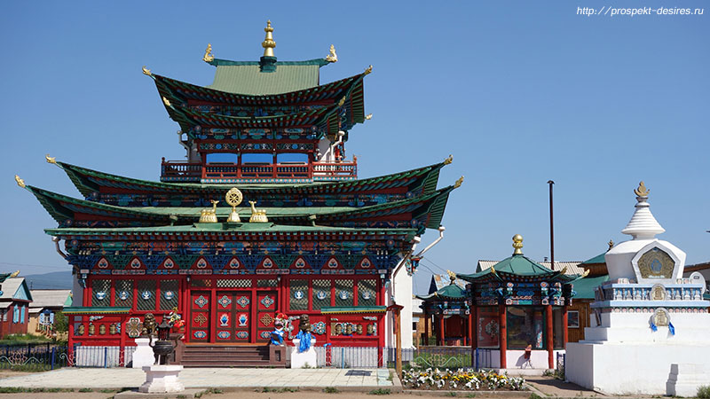Дуган Хамбо ламы Итигэлова