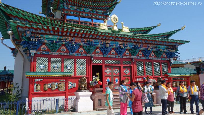 Дворец Хамбо Ламы Этигэлова
