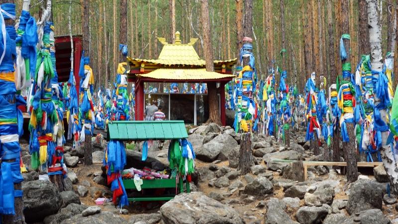 Место поклонения лику богини Янжимы (Сарасвати), фото: http://prospekt-desires.ru/