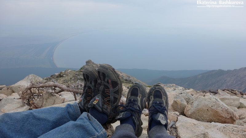 Ноги готовятся - впереди три еще три часа спуска