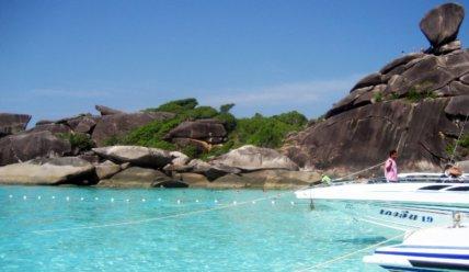 Симиланские острова: там где море встречается с океаном!