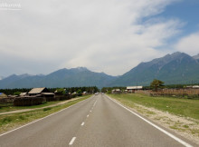 Тункинская долина, дорога к Аршану
