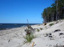 Песчаные пляжи Провала, о. Байкал, республика Бурятия