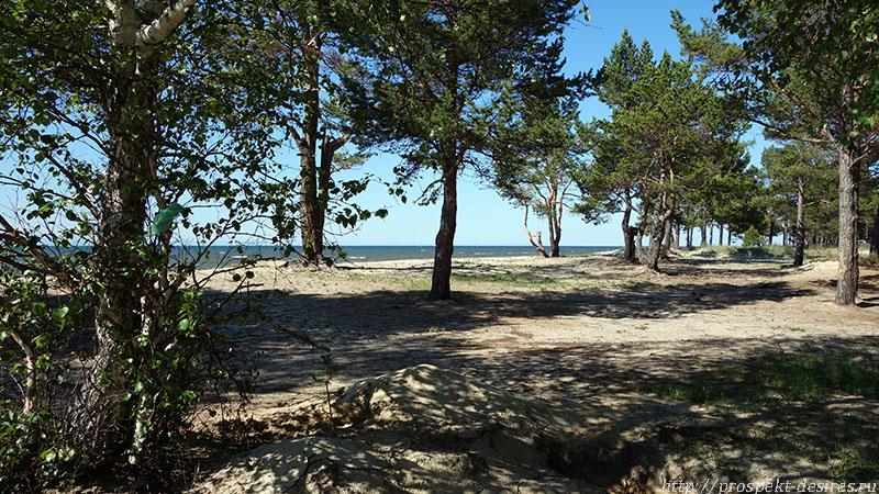 Отдых в заливе Провал с палатками