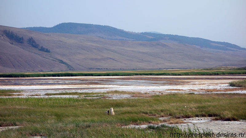 Соленое Алгинское озеро