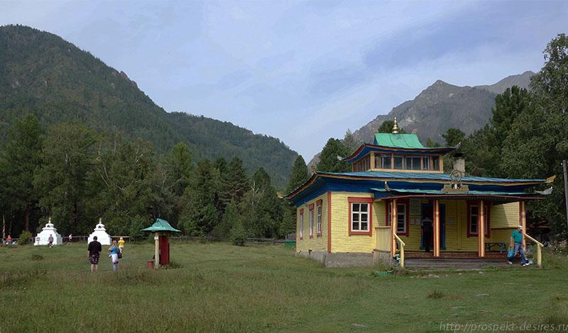 Старый дацан в Аршане