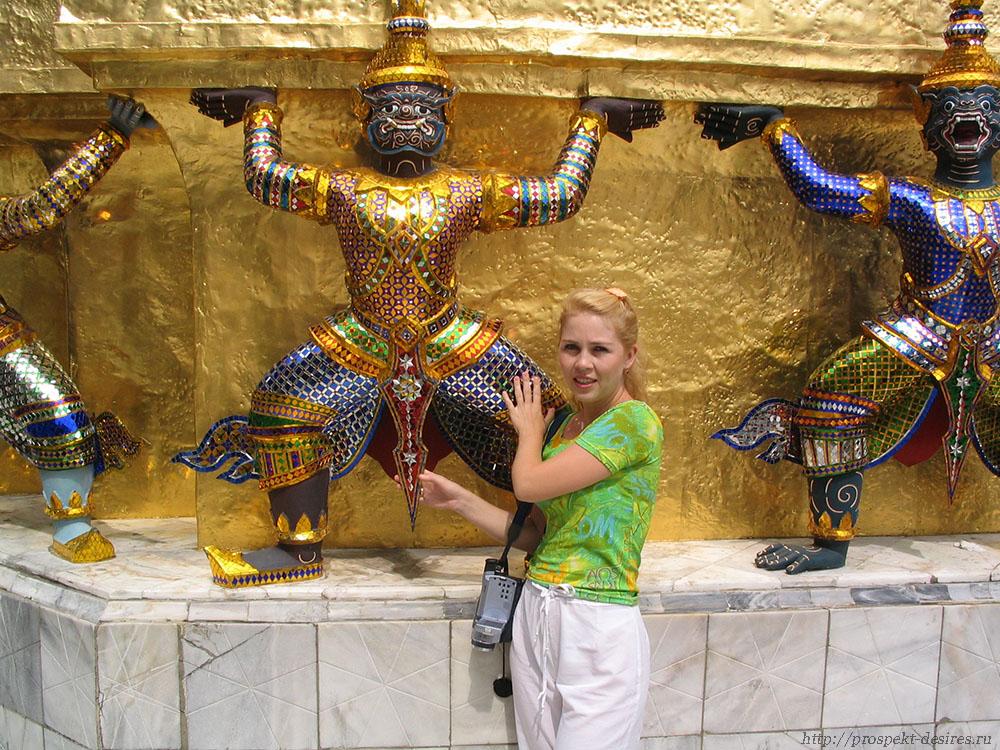 Стражники королевского дворца в Бангкоке