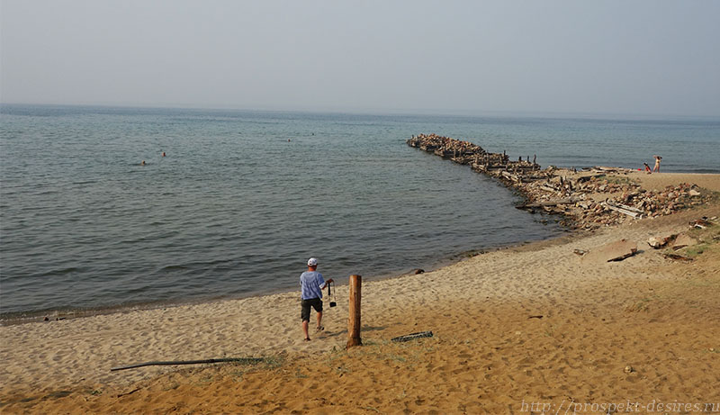 Урочище Песчаное, остров Ольхон