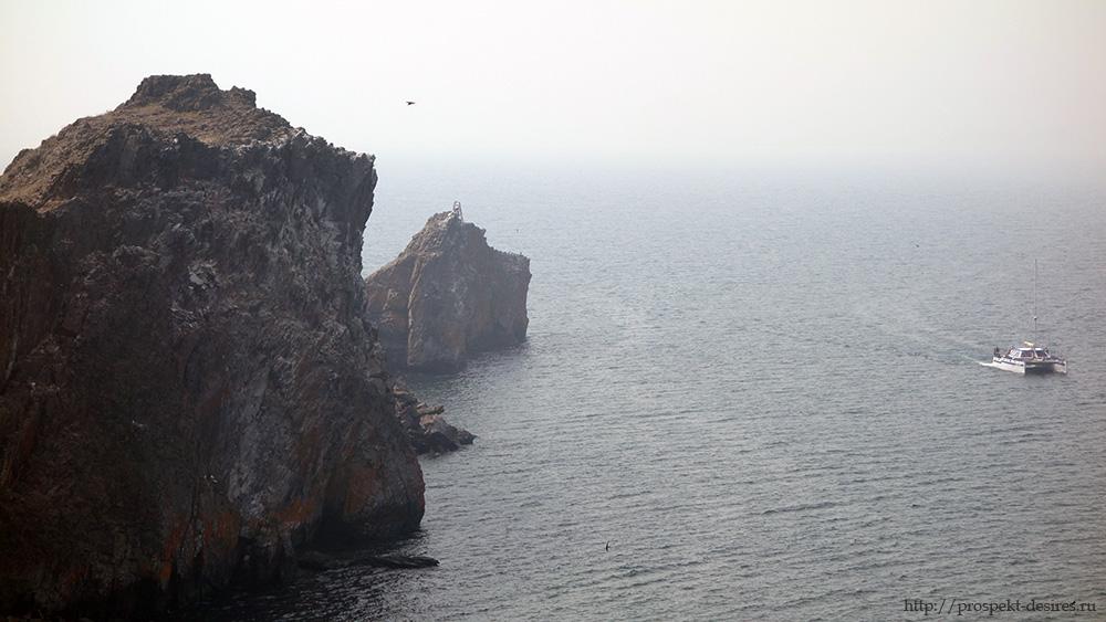 Мыс Кобылья голова на Ольхоне
