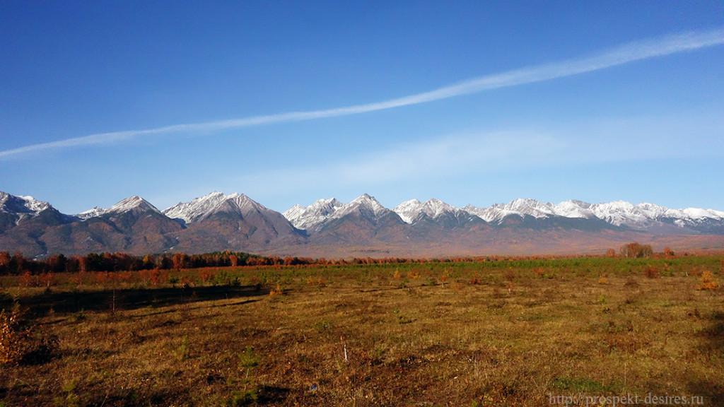 Осень в Тункинской долине