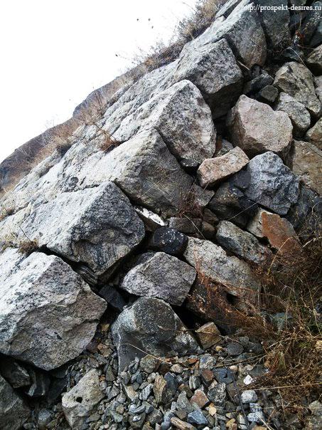 Ангасолка камни