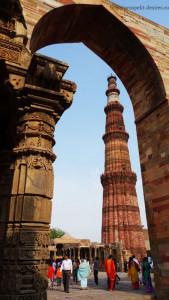 Кутуб Минар Индия Нью-Дели