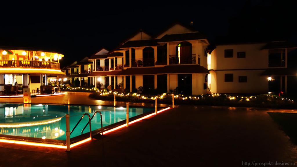 Отель на Южном Гоа