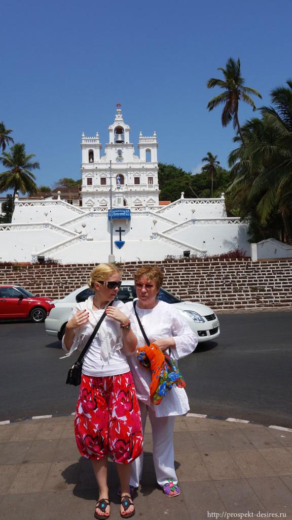 Церковь непорочного зачатия в Гоа