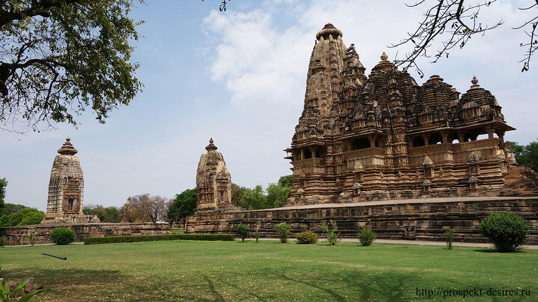 Храмы камасутры в Индии