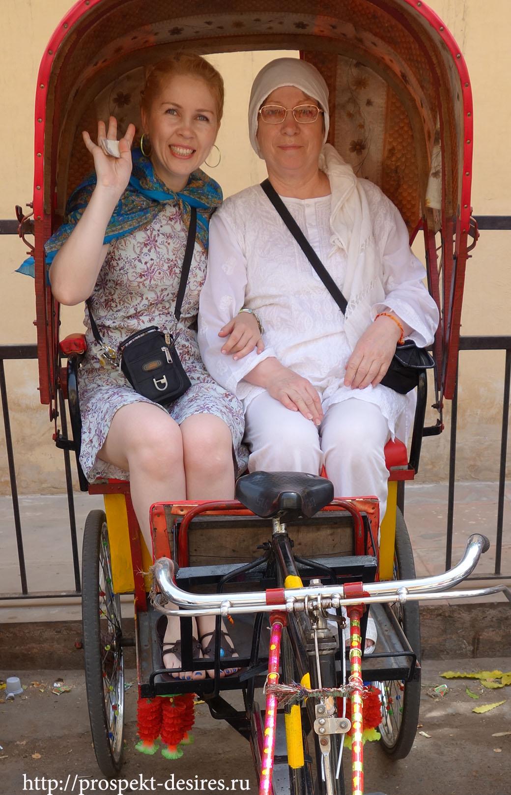велорикши в Индии
