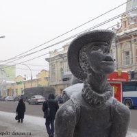 Городские скульптуры: прогулка выходного дня по Иркутску!