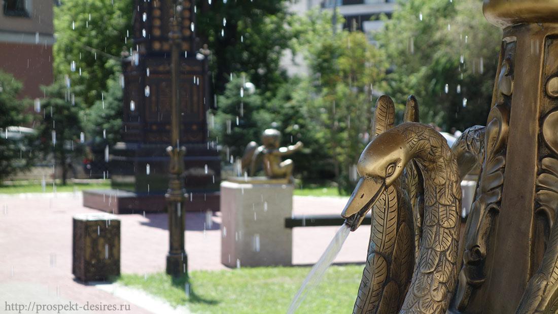 фонтан в иркутске