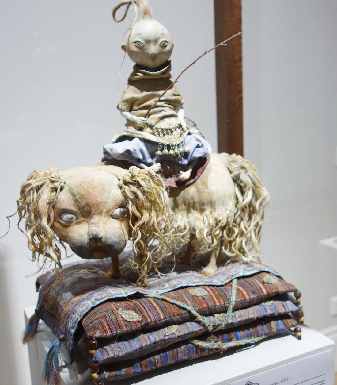 Кукла из коллекции семьи Намдаковых