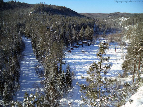 Олхинское плато зимой