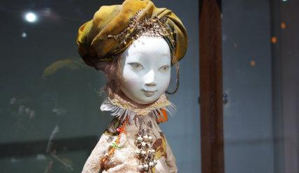Авторские куклы семьи скульптора Даши Намдакова «УЛЬГЕР».