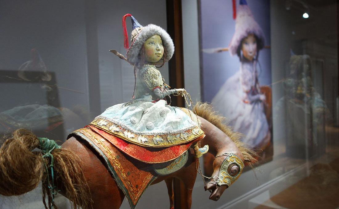 Всадница кукла семьи Намдаковых