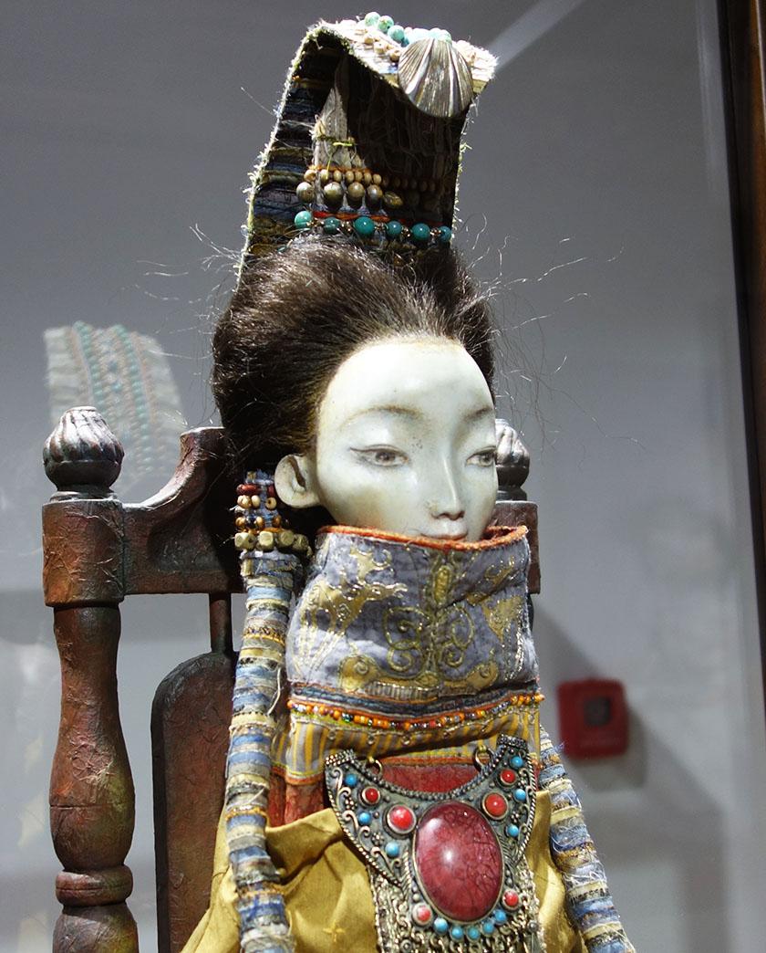 Ханша, кукла из коллекции семьи Намдаковых