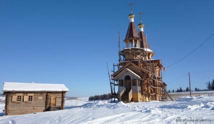 Островок духовности в селе Анга: прикосновение к наследию Святителя Иннокентия Вениаминова