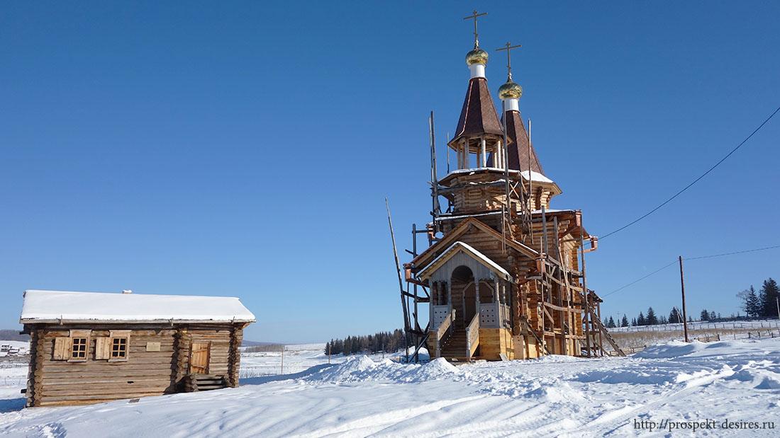 церковь в селе Анга