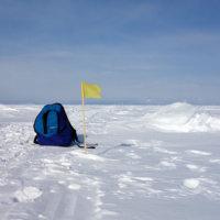 Ледовый переход через Байкал к 105 меридиану!