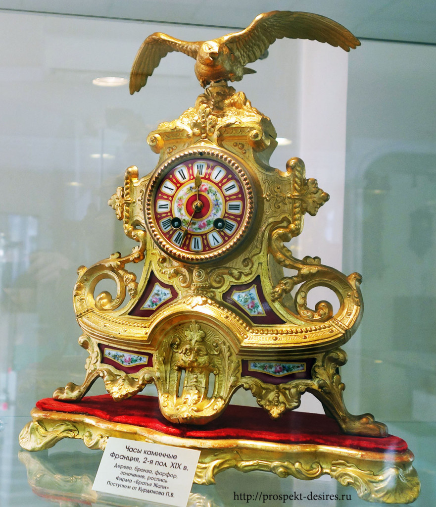 Часы каминные, Франция, 19 век
