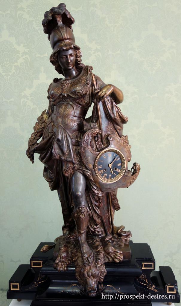 """Часы """"Афина"""", начало 19 века, Франция"""