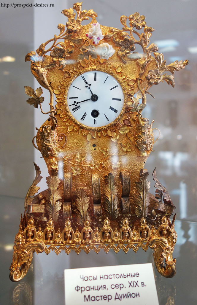 Часы настольные, Франция