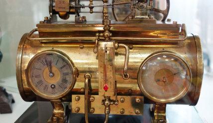 Для каждого времени свои часы: музей часов в Ангарске.