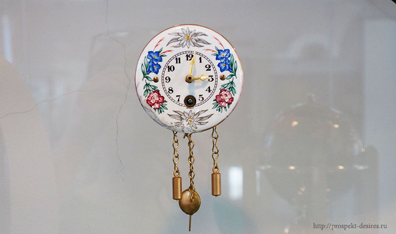 Часы-ходики, 1990 год, Германия