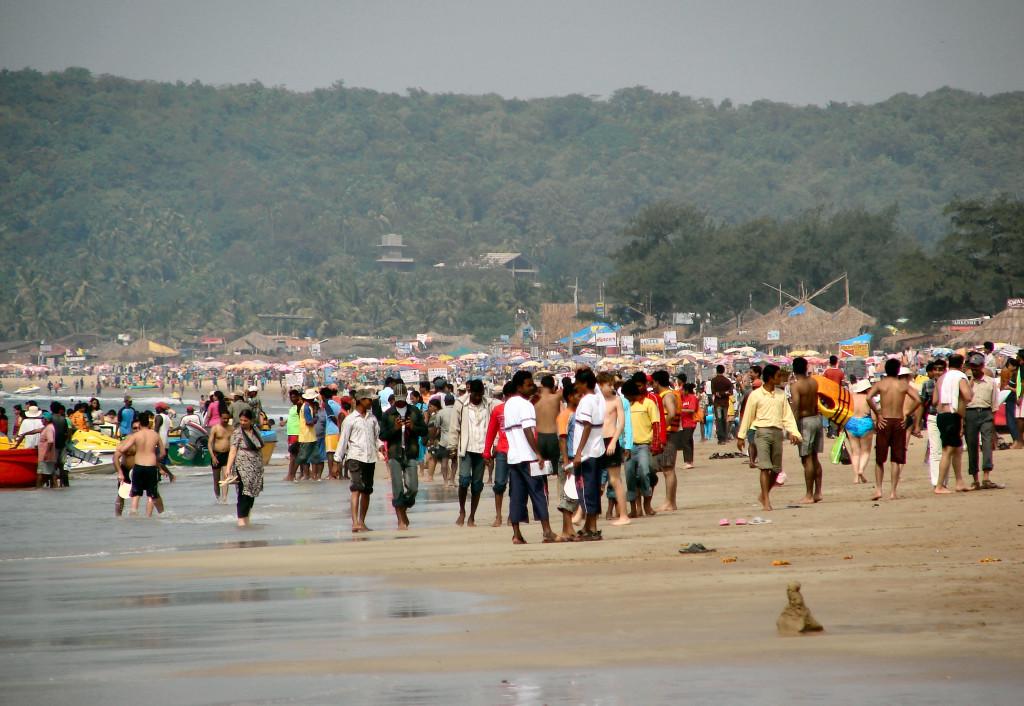 пляж Калангут, северный ГОА
