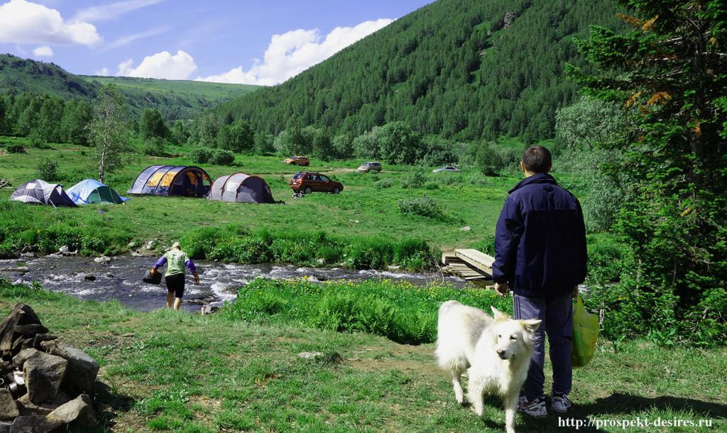 палатки на Ивановских озерах