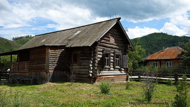 Старообрядческая изба, которой 150 лет. Сейчас в ней разместился музей староверов.