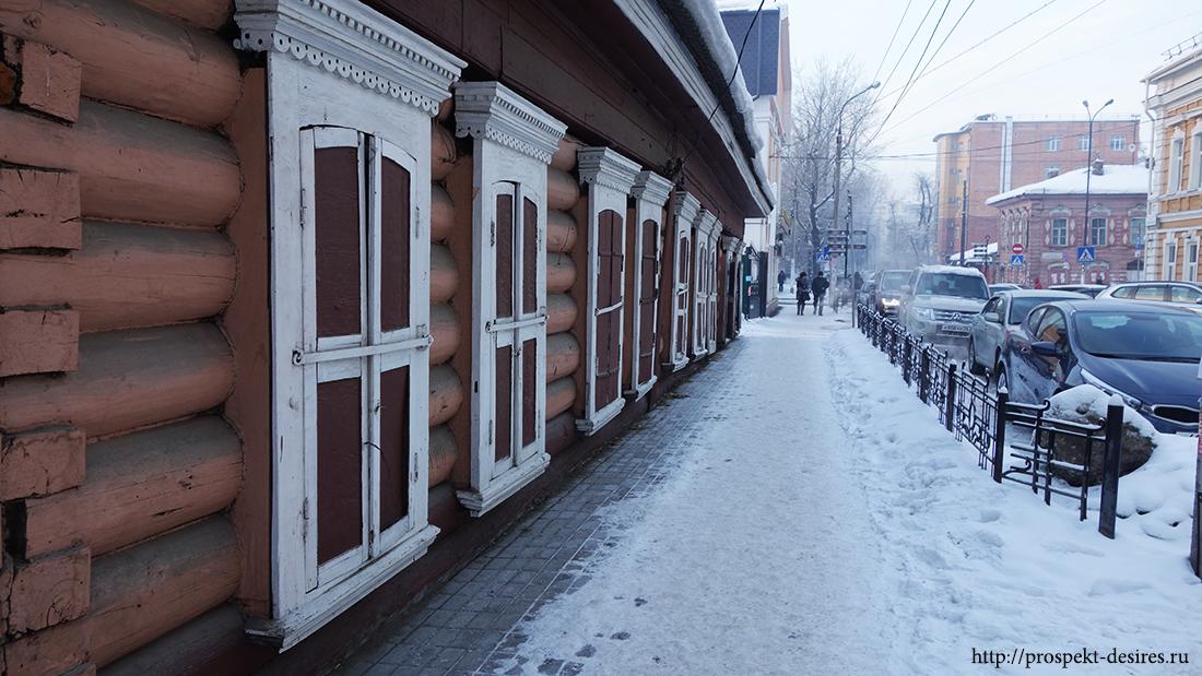 пешеходная экскурсия в иркутске